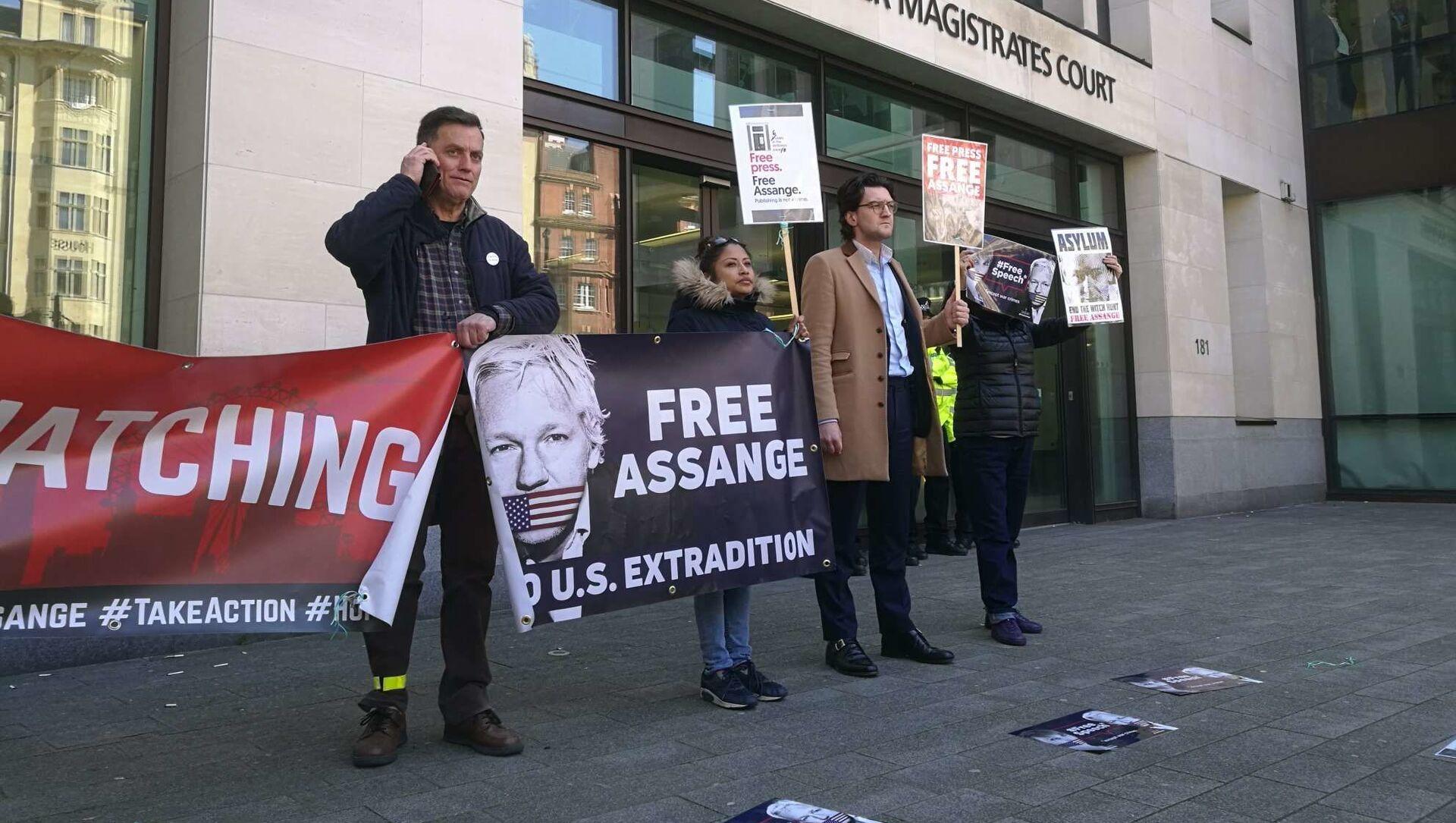 Julian Assange non avrà un processo corretto, sostiene informatore CIA John Kiriakou - Sputnik Italia, 1920, 16.03.2021