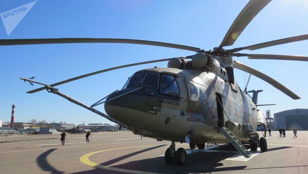 L'elicottero Mi-26-T2V - Sputnik Italia