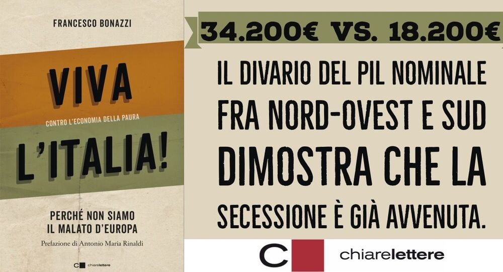 Il libro di Francesco Bonazzi Viva l'Italia, contro l'economia della paura