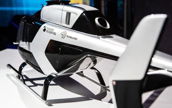 Modello dell'elicottero ultraleggero VRT500 - Sputnik Italia