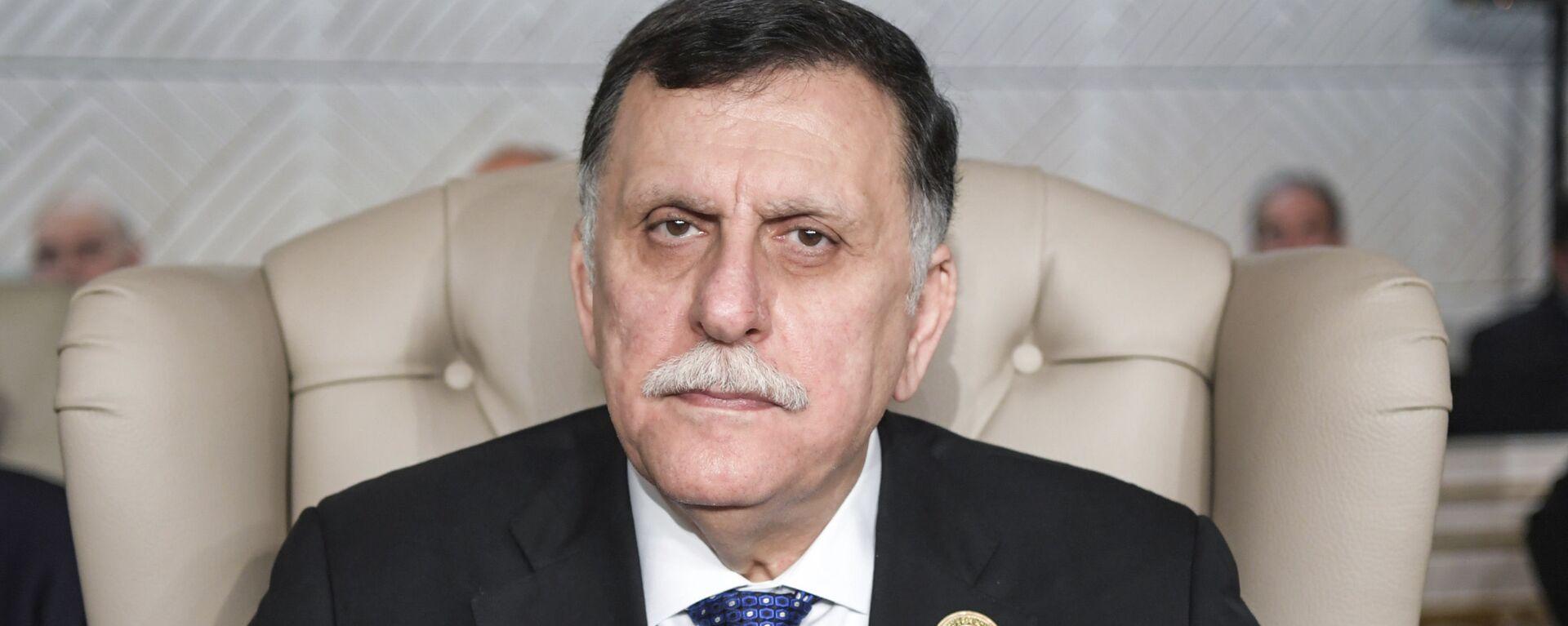 Il primo ministro del Governo di Accordo nazionale libico Fayez al-Sarraj - Sputnik Italia, 1920, 06.04.2020