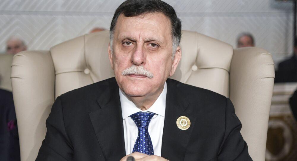 Il primo ministro del Governo di Accordo nazionale libico Fayez al-Sarraj