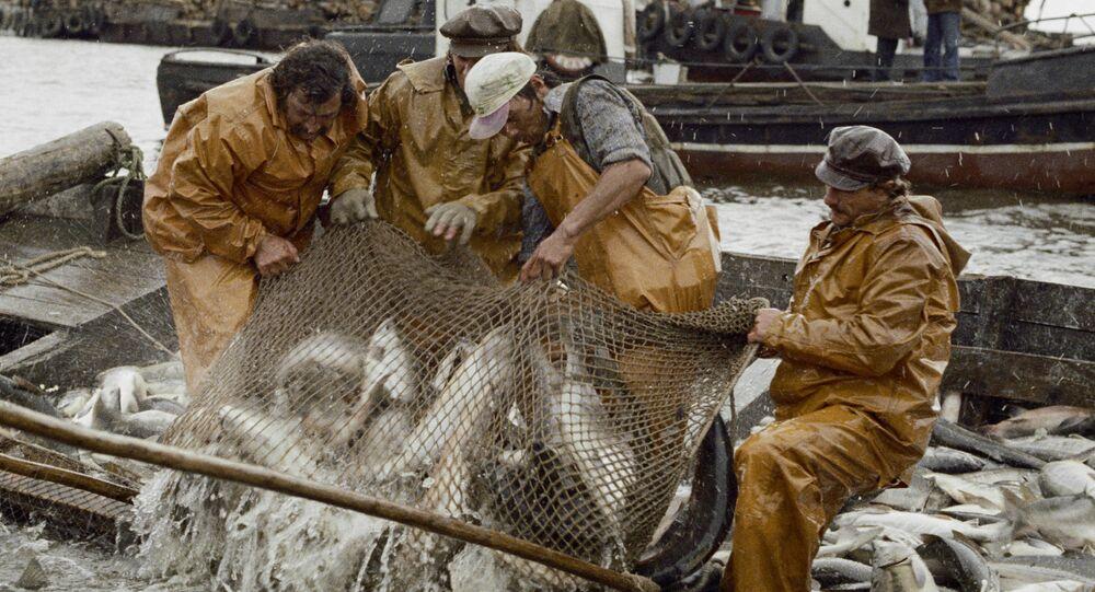 Pescatori delle Sachalin - settembre 1979