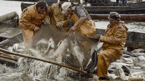 Pescatori delle Sachalin - settembre 1979 - Sputnik Italia