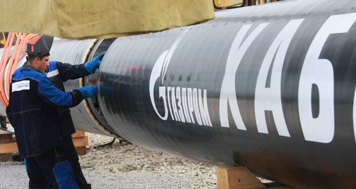Saldatura del primo tratto del gasdotto 'Sachalin-Khabarovsk-Vladivostok'
