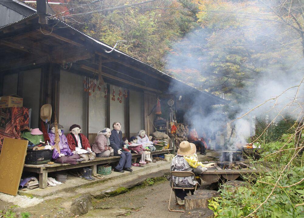 Il villaggio di Nagoro, in Giappone