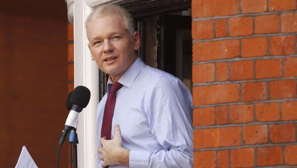 Jualian Assange - Sputnik Italia