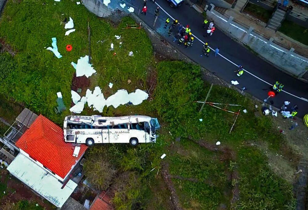 Sono morte 28 persone in seguito ad un incidente di un autobus turistico sull'isola portoghese di Madeira.
