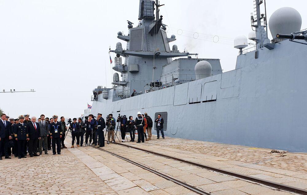 Navi russe in Cina