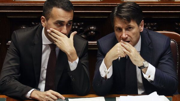 Luigi Di Maio e Giuseppe Conte - Sputnik Italia