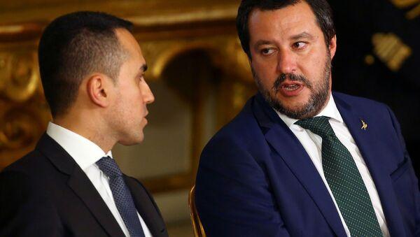 Luigi Di Maio e Matteo Salvini - Sputnik Italia