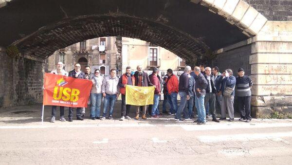 Proteste pescatori in Sicilia - Sputnik Italia