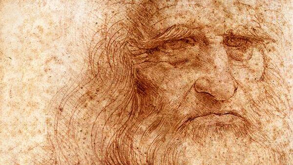 Leonardo - autoritratto (particolare, 1515 circa) Biblioteca Reale di Torino - Sputnik Italia