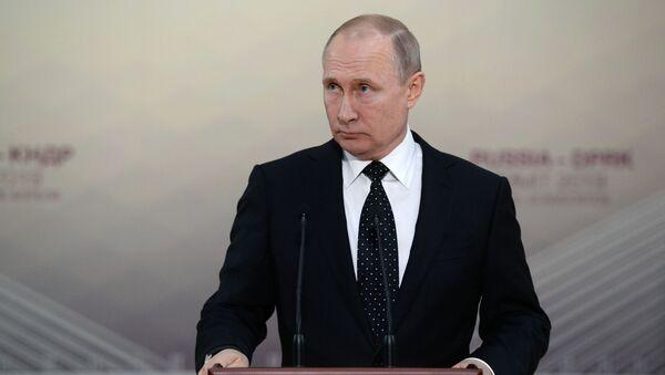 Vladimir Putin a Vladivostok - Sputnik Italia