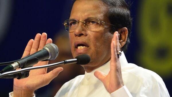 Il presidente dello Sri Lanka Maithripala Sirisena - Sputnik Italia