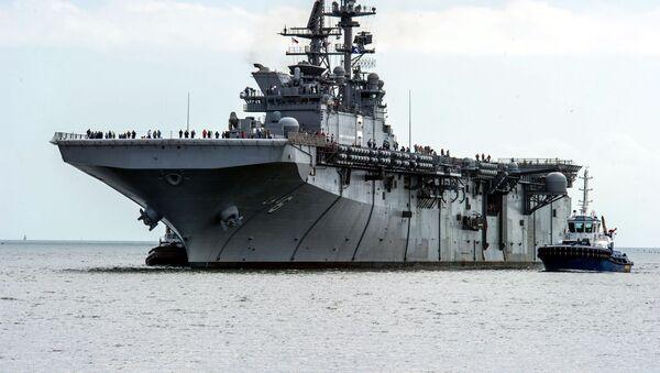 La nave d'assalto America - Sputnik Italia