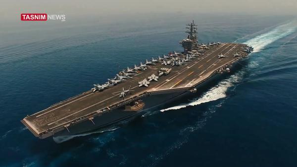 Drone iraniano è riuscito a perlustrare portaerei americana nel Golfo Persico - Sputnik Italia