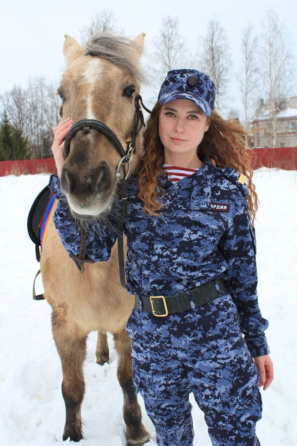 Guardia Nazionale russa, al servizio della bellezza - Sputnik Italia