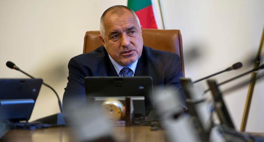 Il primo ministro bulgaro Bojko Borisov