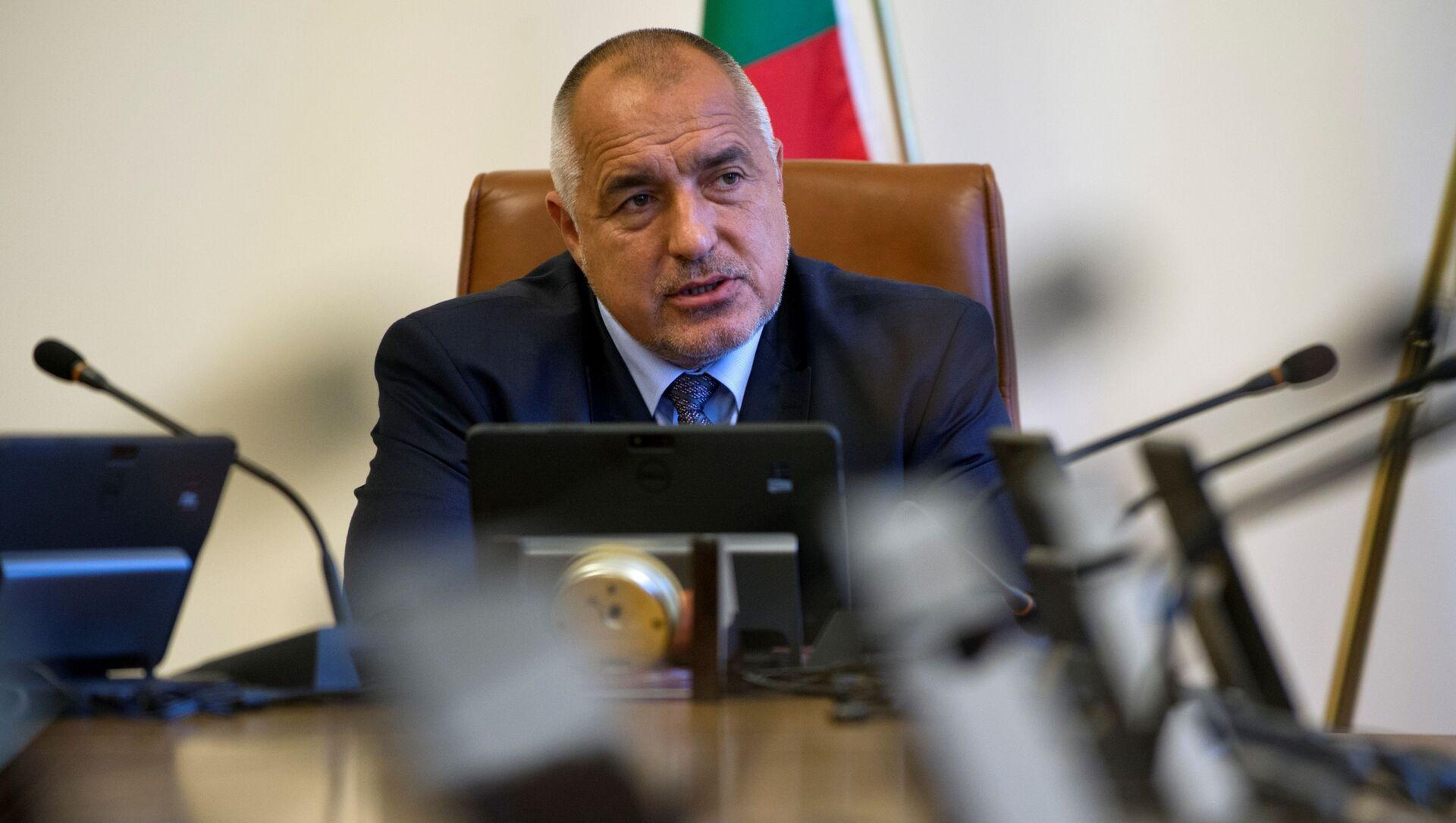 Il primo ministro bulgaro Bojko Borisov - Sputnik Italia, 1920, 16.03.2021