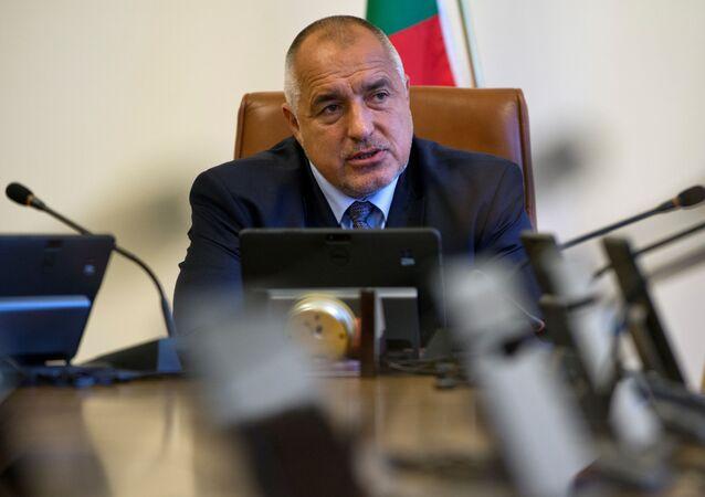 Il primo ministro bulgaro Bojko Borisov (foto d'archivio)