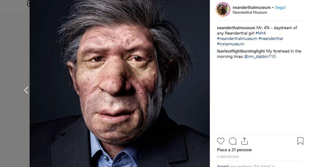 Come sarebbe un neanderthal moderno secondo il museo di Mettmann (GER)