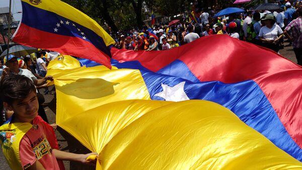 La manifestazione per la Festa dei lavoratori a Caracas - Sputnik Italia