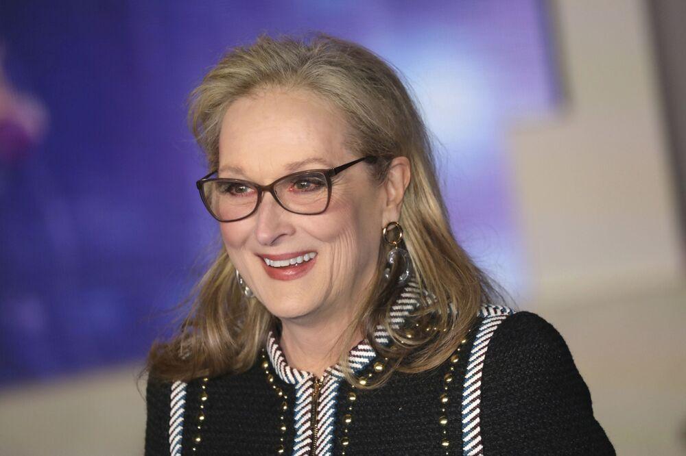 Meryl Streep, per lei l'età non è un ostacolo alle sue grandi prestazioni artistiche.