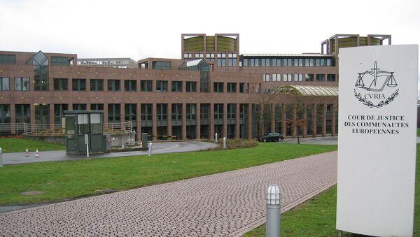 Corte di Giustizia Europea - Sputnik Italia
