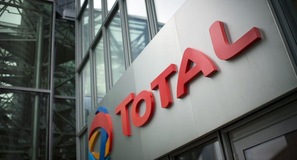 Logo della compagnia energetica francese Total