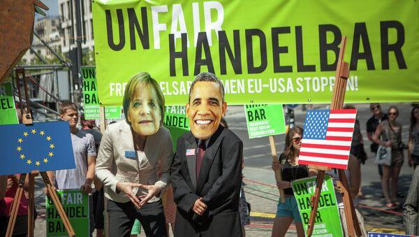 Manifestazione anti-TTIP - Sputnik Italia