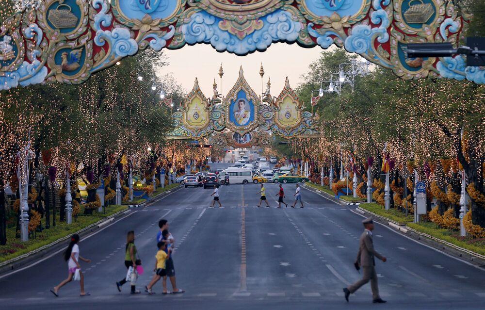 La cerimonia nuziale di Re Vajiralongkorn e Suthida Vajiralongkorn Na Ayutthaya.