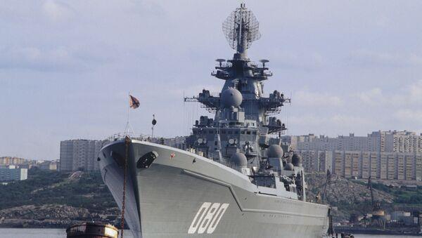 L'incrociatore nucleare russo Admiral Nakhimov - Sputnik Italia