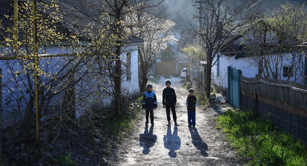 Un villaggio in Crimea.