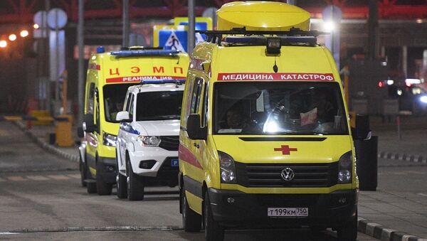 Ambulanze all'Aeroporto Sheremetyevo - Sputnik Italia