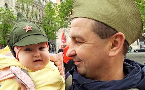 Il più piccolo partecipante al Reggimento Immortale - Sputnik Italia