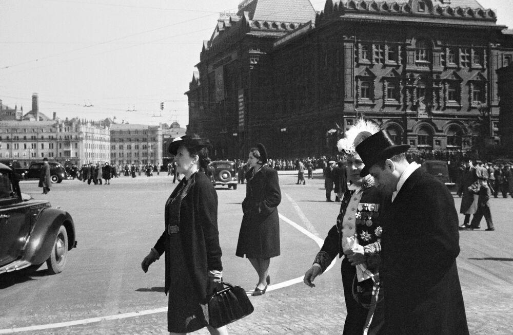 Ospiti stranieri a Mosca