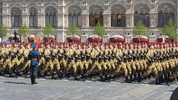 I soldati della divisione motorizzata Tamanskaya - Sputnik Italia