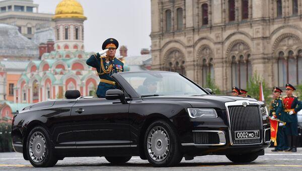 Il generale colonnello Oleg Salyukov alla Parata della Vittoria 2019 - Sputnik Italia