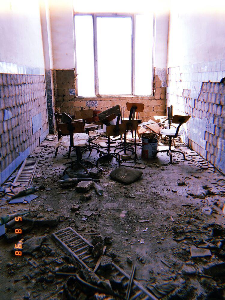 Заброшенный завод часов Армянской ССР