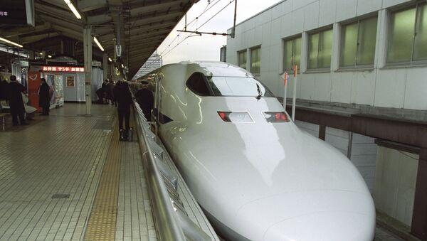 Treno ad alta velocità Shinkansen - Sputnik Italia