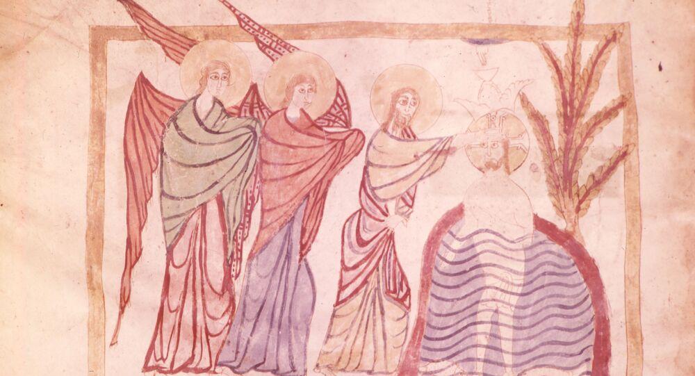 Miniatura del VI secolo