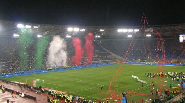 Lo stadio Olimpico di Roma dopo la finale di Coppa Italia - Sputnik Italia