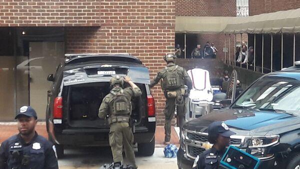USA, blitz della polizia nell'ambasciata del Venezuela a Washington, 4 arrestati - Sputnik Italia
