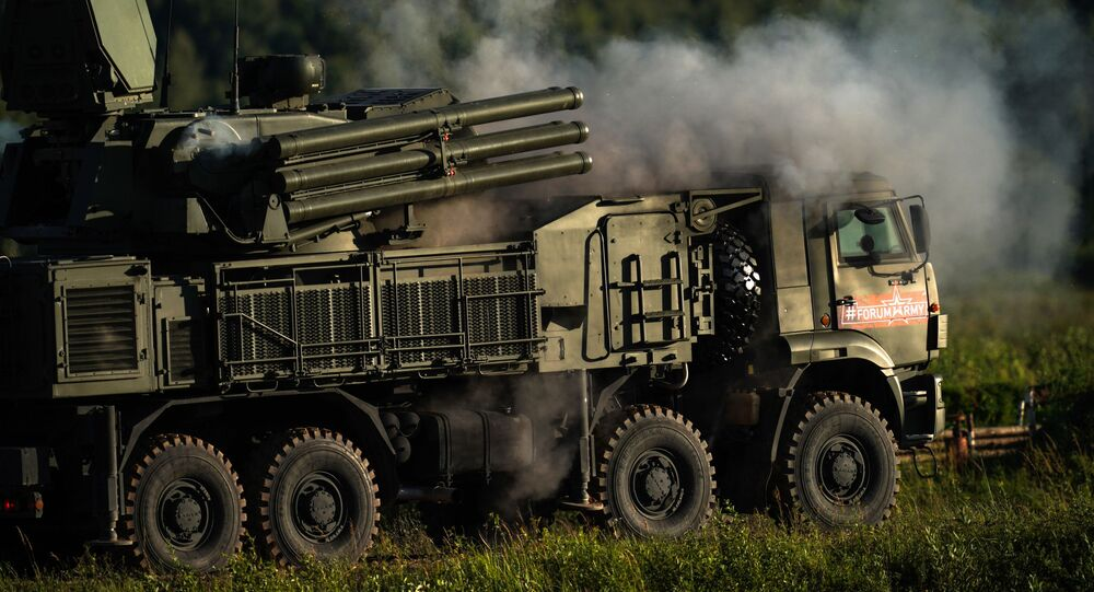 Il sistema missilistico russo terra-aria Pantsir-S1