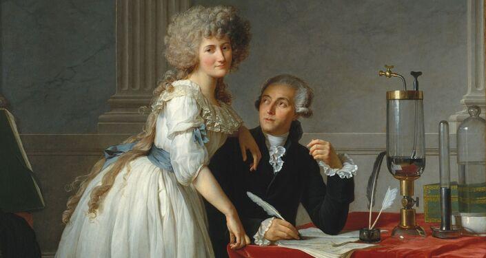 Antoine-Laurent de Lavoisier e Marie-Anne Pierret Paulze