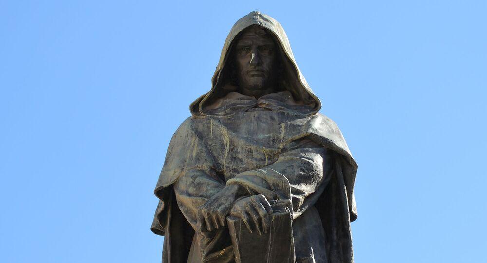 Statua di Giordano Bruno in Campo de'Fiori