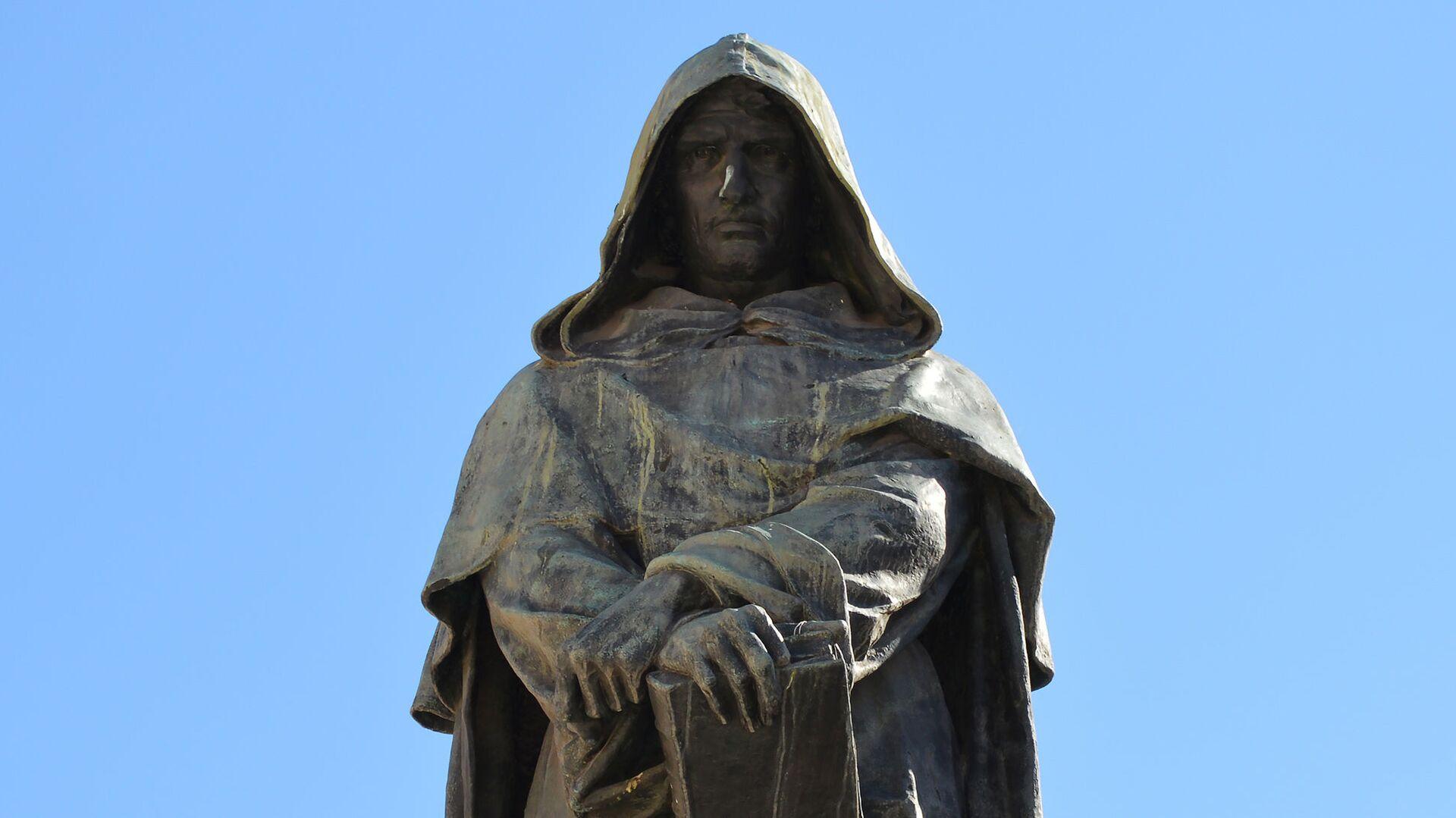 Statua di Giordano Bruno in Campo de'Fiori - Sputnik Italia, 1920, 22.08.2021