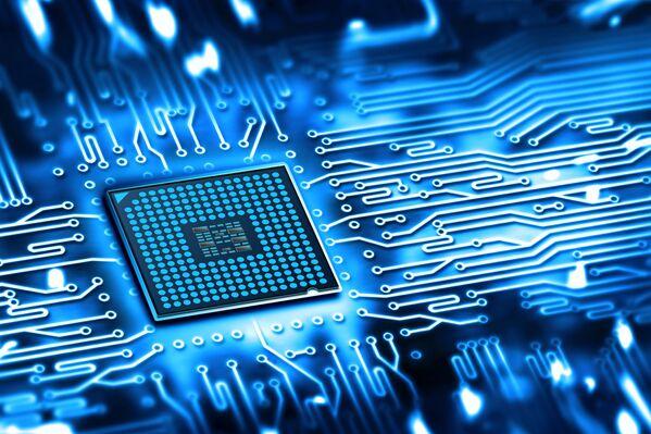 Un microchip. - Sputnik Italia