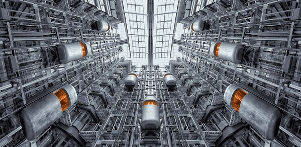 Ascensori futuristici. - Sputnik Italia